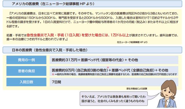 日米医療費