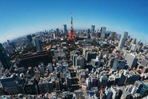上空から見落とす東京