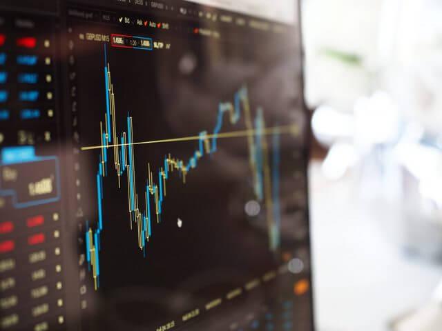株の値動き