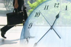 時計と会社員