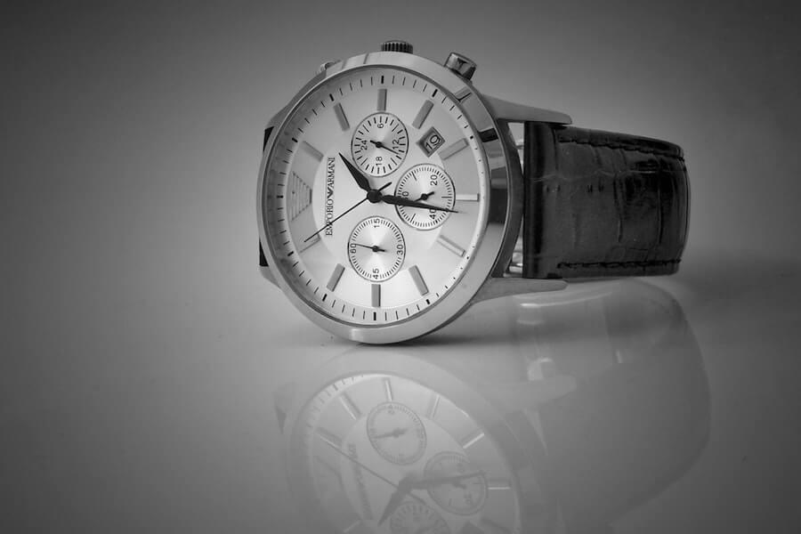アルマーニの腕時計